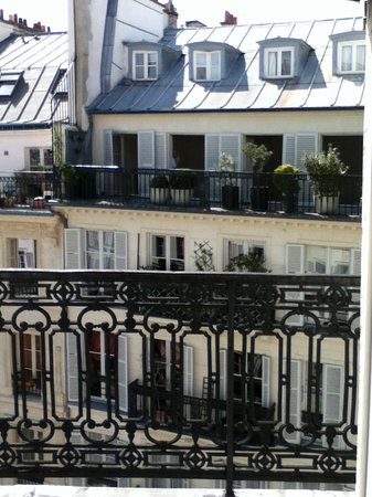 Hotel Monnier : View from the balcony
