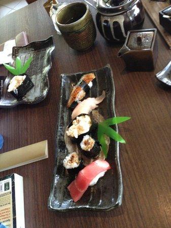 Kaizen Sushi: A selection of sushi