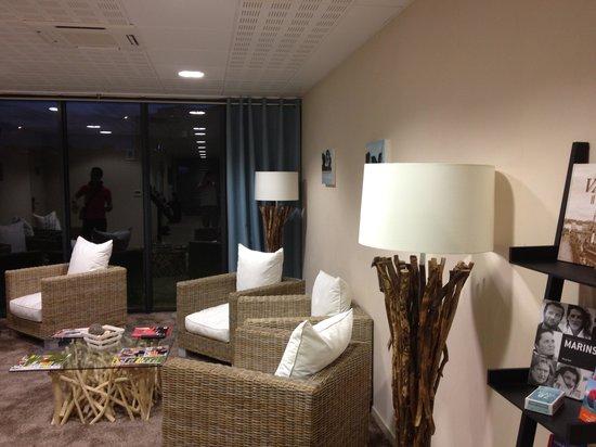 Appart'City Confort Vannes : Salon détente