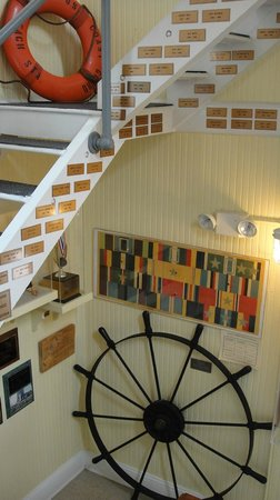 Old Coast Guard Station: Stairwell