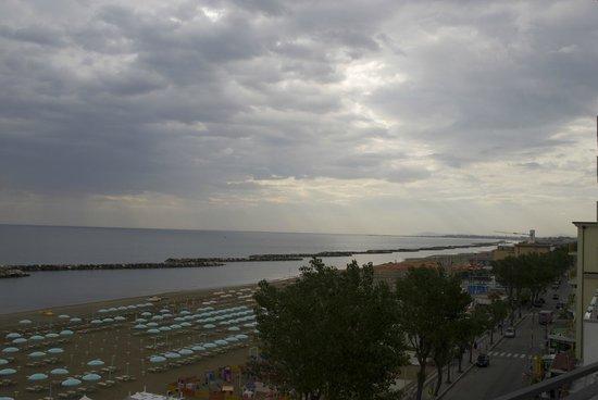Hotel Merkury: panoramic view from my balcony