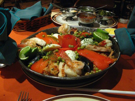 Restaurante & Bbqq El Chicote: Paella maravilhosa