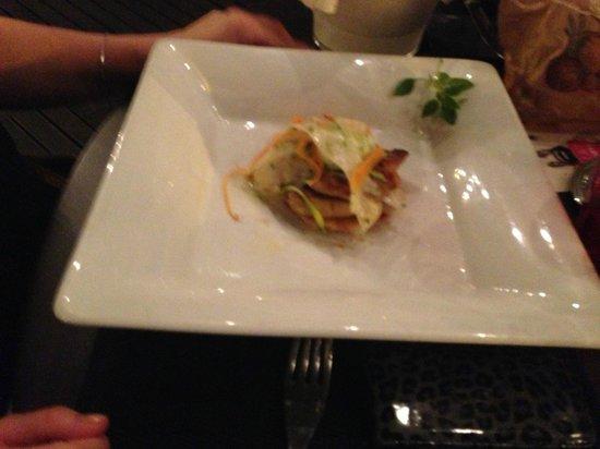 Le Bouchon a la Mer : entrée à base de foie gras poêlé