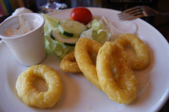 Knickerbocker Restaurant : Calamars (entrée)