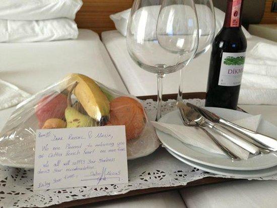 Hotel Cettia Beach Resort: Nice touch