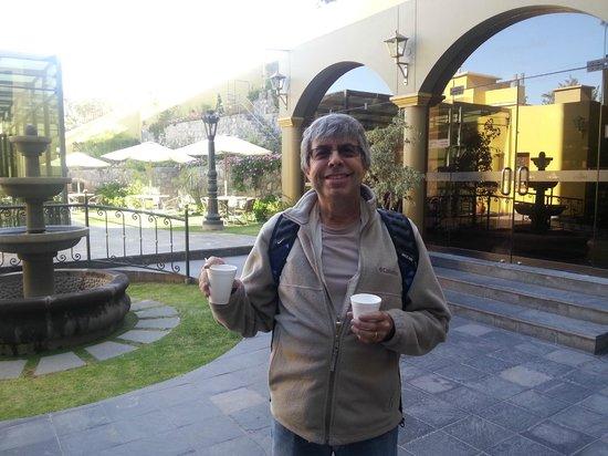 El Cabildo : Vários recantos no Hotel para fotos