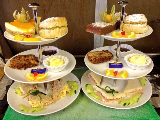 The Old Stables Tea Rooms: Afternoon tea for two  at old stables tearooms