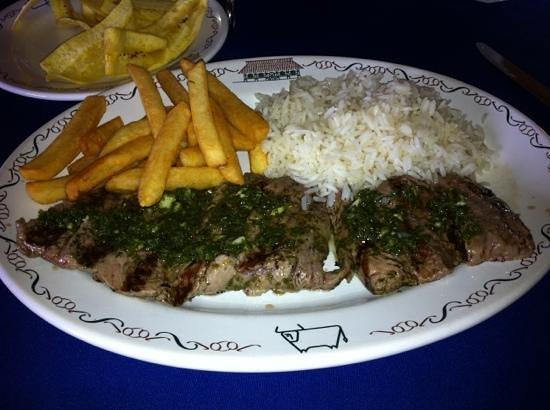 El Tiscapa: Juicy, tender churrasco