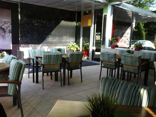 Aruba Hotel: We had breakfast here