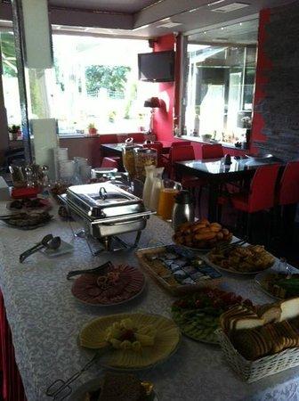 Aruba Hotel: The breakfast