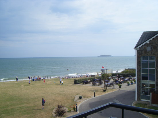 Quality Hotel & Leisure Center Youghal : view from balcony