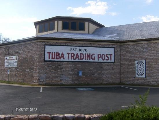 Cameron Trading Post: Rear view