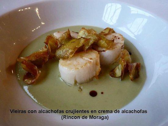 Restaurante El Rincon de Moraga: Vieiras