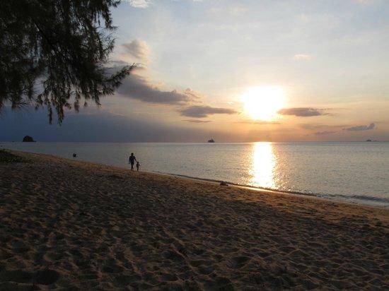 Текек, Малайзия: vista dalla spiaggia
