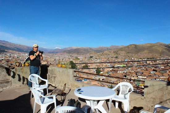 Piuray Hostal Cusco: What a View!