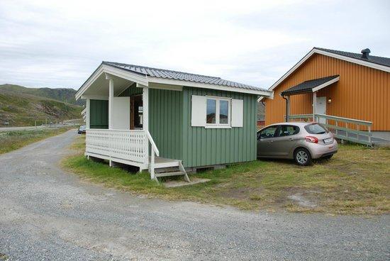 Nordkapp Camping: hytter