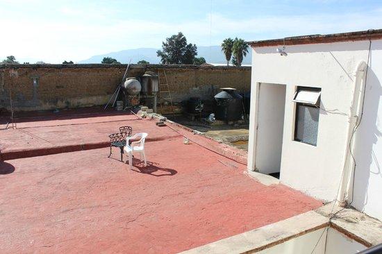 """Posada Margarita: Esta es la """"terraza"""""""