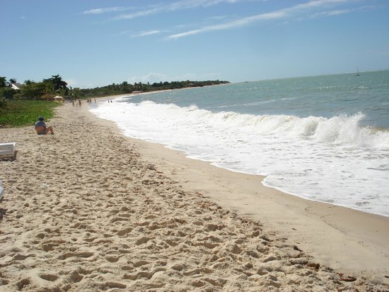 "Coroa Vermelha Praia Hotel: praia ""particular"""