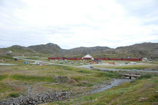 Nordkapp Camping: campeggio
