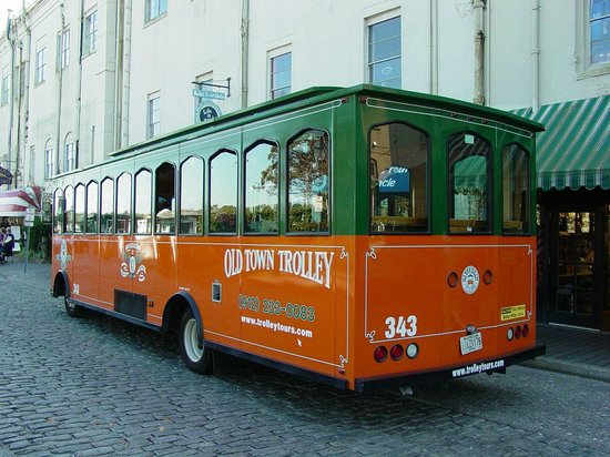 Embassy Suites by Hilton Savannah : Enjoy a trolley tour of Savannah