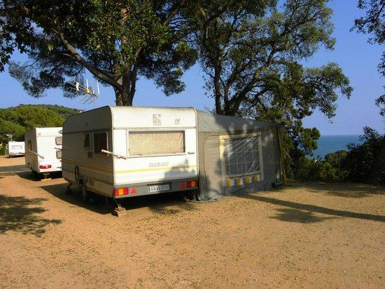 Camping Cala Canyelles: Parcelas