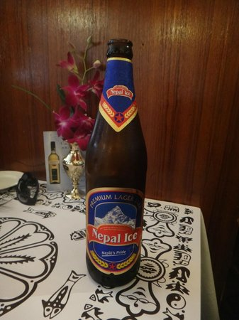 Nepal - Nepalese Cuisine: Cerveja Nepal Ice!