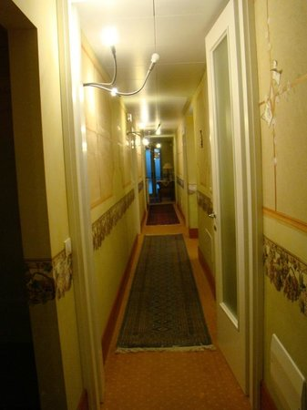 A Casa di Paola: corredor de acesso aos apartamentos