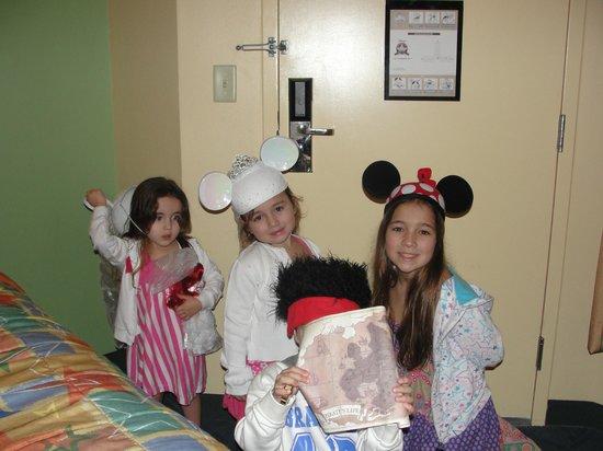Disney's All-Star Movies Resort: habitaciones