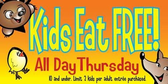 Country Kitchen Kids Meals Only 99 Cents Everyday After 4pm