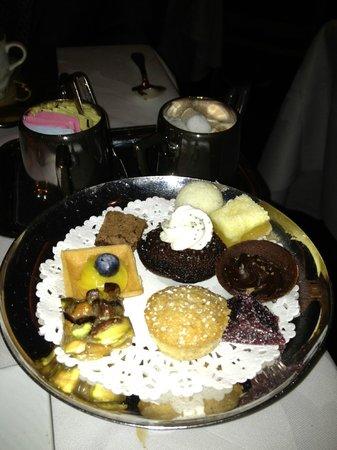 Restaurant Gary Danko : mini desserts