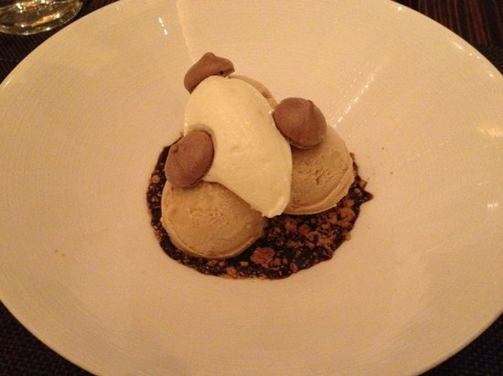 "J&G Steakhouse: ""stout"" ice cream"