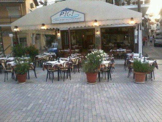 Pigi Taverna: Pigis Town Square Thassos !!