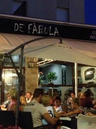 Restaurante de Fabula Mediterranea : Dit is een super restaurant de fàbula