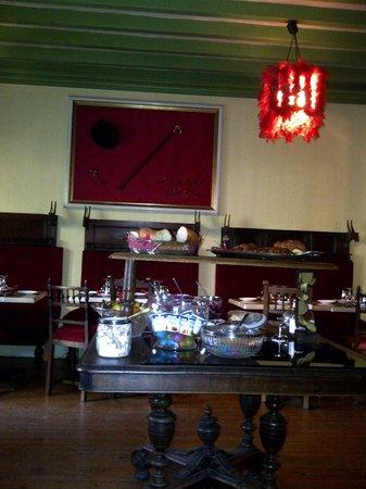 Detective Hotel : Salle petit dejeuner