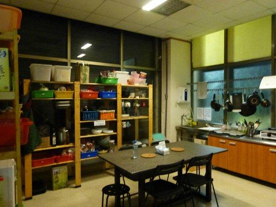 The Meeting Place Hostel: Cozinha