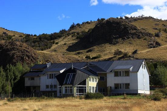 PuduLodge Hosteria Patagonica: Fachada de la Hosteria