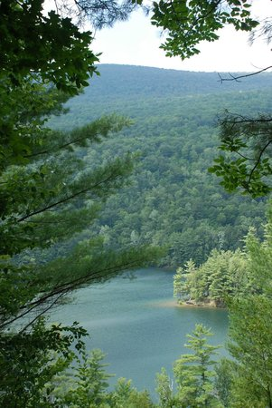 Emerald Lake State Park: View from Vista Trail