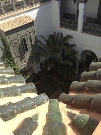 Zaouia 44: vue du toit terrasse