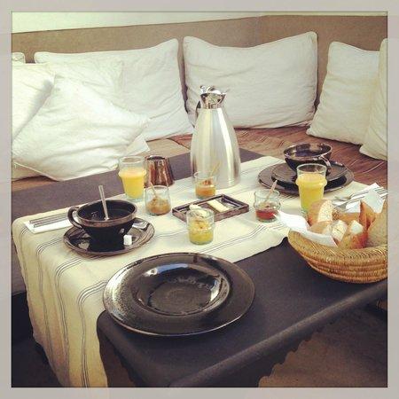 Zaouia 44: petit déjeuner