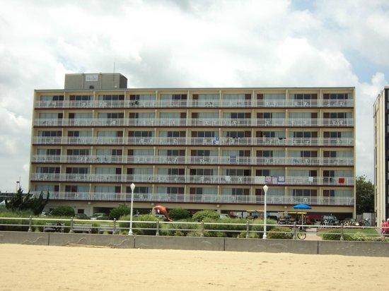 Marjac Suites: Vue du Marjac à partir de la plage