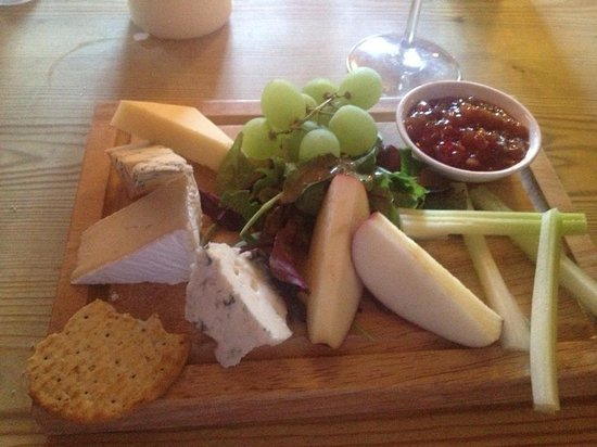 Rose Tree Restaurant: The Cheese Board
