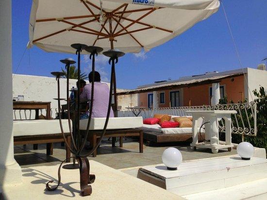 Dom Fortunato: Second terrace area