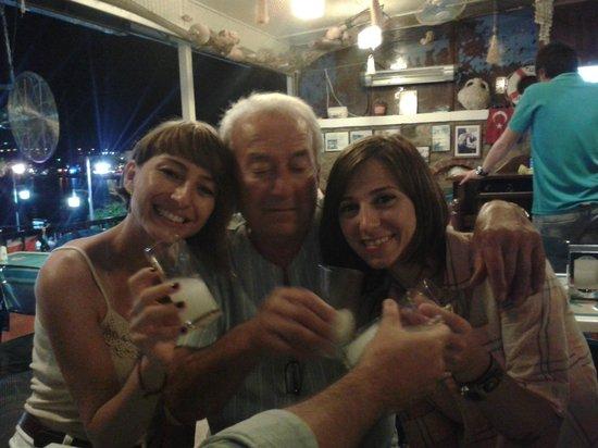 Berk Balik Restaurant : Hüsnü Baba ile :)