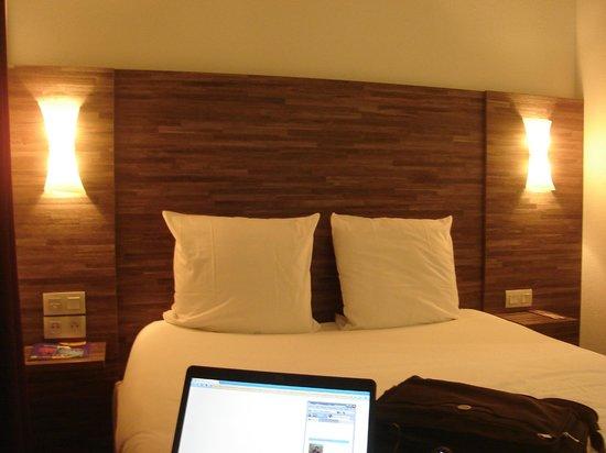Hotel Ibis Styles Rennes Centre Gare Nord : Cama gostosa