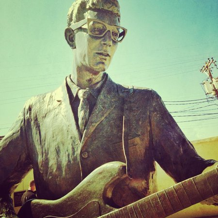 Buddy Holly Statue and West Texas Walk of Fame: Buddy Holly