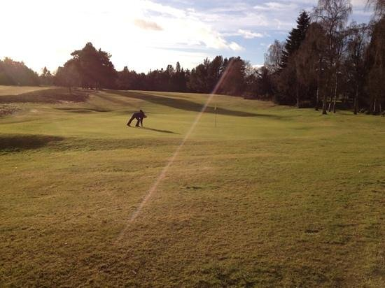 Blairgowrie Golf Club: Rosemount 18th