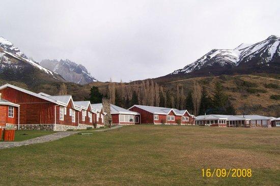 Las Torres Patagonia: Vista do Hotel