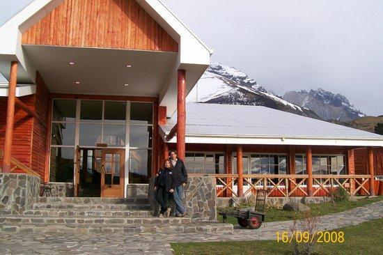 Las Torres Patagonia: Entrada do Hotel