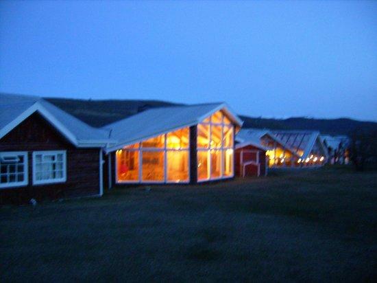 Las Torres Patagonia: Hotel a noite