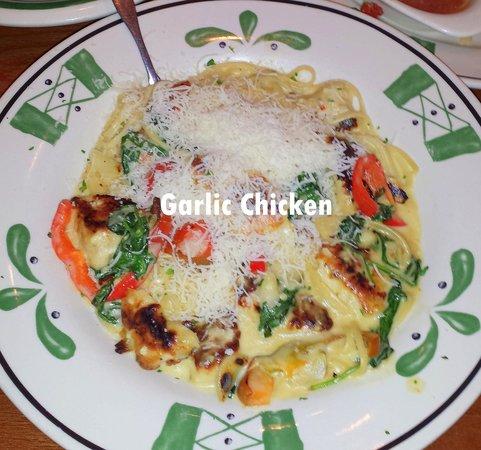 olive garden garlic chicken terrible tasting - Olive Garden Winter Park
